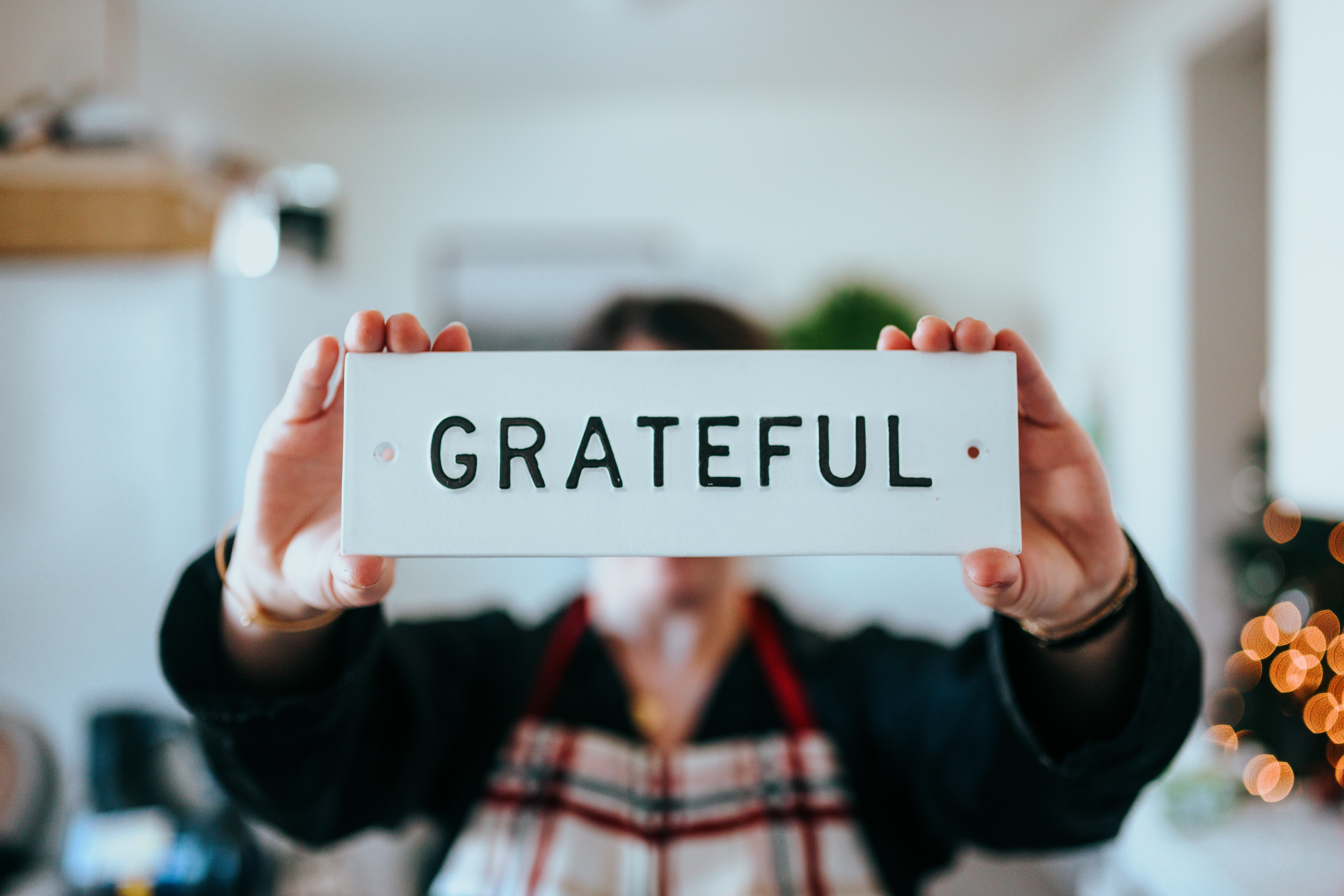 Gratitude is an attitude, according to Sarah Marshank.